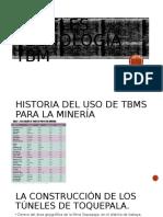 Tuneles , tecnología TBM.pptx