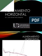 ALINEAMIENTO HORIZONTAL