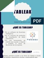 Tableau - Presentación