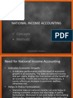 National Income Accounting for Plus Two
