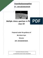 253364844-Physics-MCQ-9th