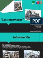 Lenguaje Terremotos