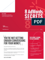 8 AdWords Secrets Google Will Never Tell You - Ed Leake