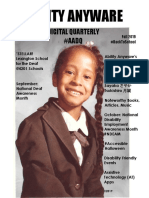 Ability Anyware Digital Quarterly (AADQ) Fall 2019 #AccessibleBackToSchool