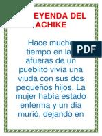 La Leyenda Del Achike Inicial