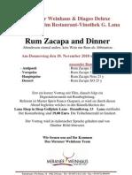 Rum Zacapa and Dinner[1]