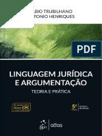 Linguagem Juridica e Argumentacao - Fabio Trubilhano