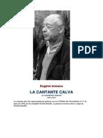 Dlscrib.com Ionesco Eugene La Cantante Calva