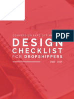 CRO Checklist for Dropshippers 2020