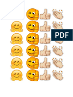 Emojis Buen Trabajo