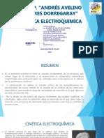 CINÉTICA ELECTROQUIMICA