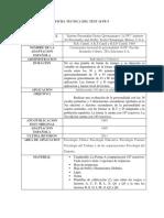 Descripción General Del Test 16pf