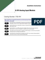 MicroLogix 1762-If4 Analog Input Module