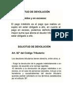 Expo Devolucion