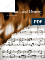2001. Music and Memory - Bob Snyder