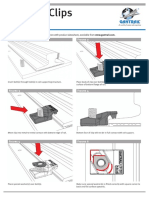 Gantrail Fitting Instructions 3 Series DS 0814