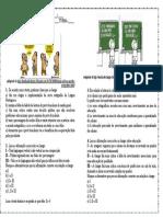 Atividade de Português Interpretação de Texto Charge Para ENEM 3ª Anos Modelo Editável