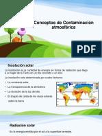 Conceptos de Contaminación Atmosferica