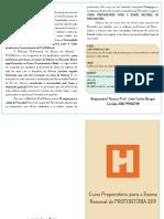 Folder Preparatório Profhistória