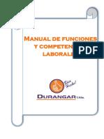 MANUAL DE FUNCIONES Y COMPTENCIAS LABORALES EN DURANGAR LTDA.docx
