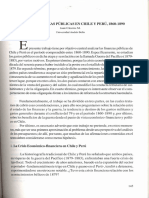 Guerra y Finanzas públicas es Chile y Perú