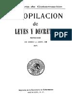Ley de Febrero Del 1917