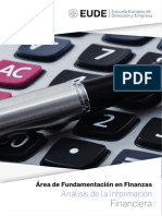 Análisis de Información Financiera - eBook en PDF