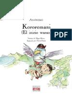 Kororomani (El inicio Warao)