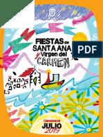 Santa Ana Virgen de Carmen 2019