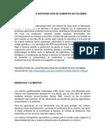 REFERENCIAS BIOTECNOLOGIA