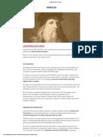 Leonardo Da Vinci - Historia