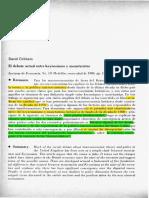 Debate Actual Entre Keynesianos y Monetaristas (1) (1)