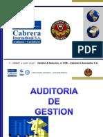 3-Auditoria de Gestion