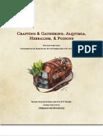 D&D 5.0 - Alquimia, Herbalismo e Venenos