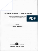 (a) Defending Mother Earth