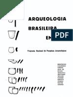 XXX Arqueologia Brasileira Em 1968 PRONAPA