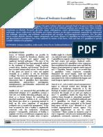 Medicinal and Therapeutic Values of Sesbania Grandiflora