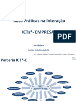 Vera Crosta Boas Preticas Nas Interações ICTs Empresas