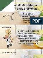 10-1-6 DIII Bicarbonato de Sodio