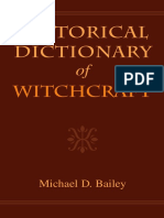 Bailey - Historical Dictionary of Witchcraft.pdf