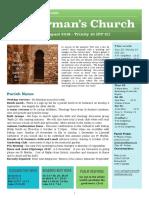 st germans newsletter - 25 august 2019 - trinity 10