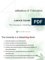 Internationalization of Education