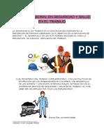 Técnico Laboral en Seguridad y Salud en El Trabajo