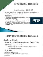 IGII10-Tiempos Verbales_ Presente y Pasado Clase 7