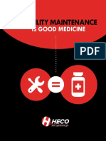 Reliability maintenance is good medicine