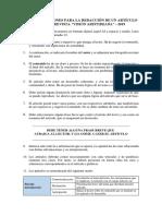 Recomen Daciones Para La Redacción de Artículo Para Revista Institucional