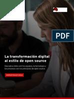La Transformacion Digital al Estilo de Open Source
