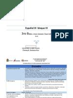 2015 Planeacion Español 3ro Bloque II