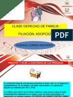 Familia- Filiación y  Adopción