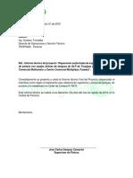 Informe Tecnico - Tk Multicentro y Multiplaza - Tropigas